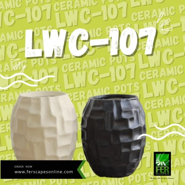 Buy LWC-107 Cement Pots at FER Scapes Landscaping Services, Inc.